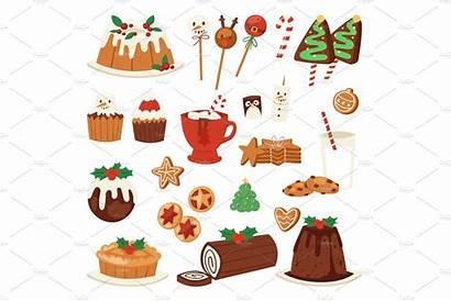 Christmas Holiday Illustration Vector Xmas Decoration Traditional