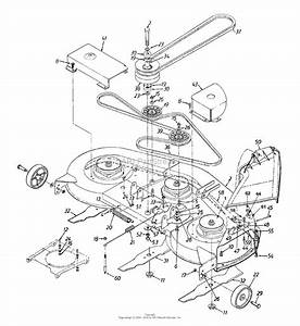 Mtd 13ai673h352  2000  Parts Diagram For Deck Assembly  U0026quot H U0026quot