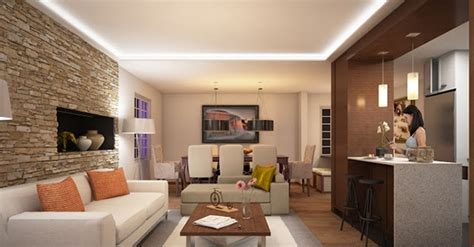 exceptional living room design ideas  brick wall accents