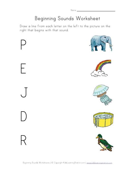 phonics sounds great worksheets for practice at home