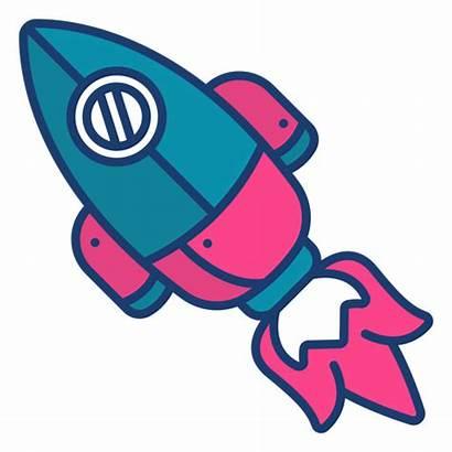 Cohete Rocket Space Colorful Colorido Espacial Foguete
