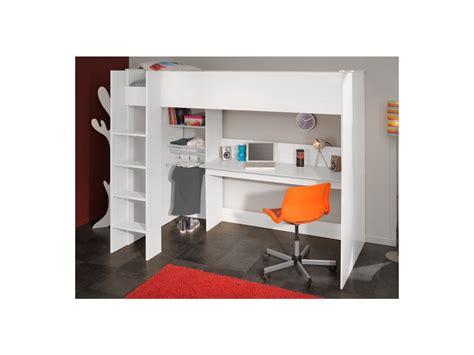 lit mezzanine avec bureau pour ado chambre ado fille avec lit mezzanine mezzanine couchage