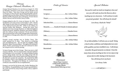 george edward meadows sr obituary aa rayner  sons