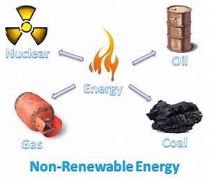 Figure 1 - Sources of non-renewable energy