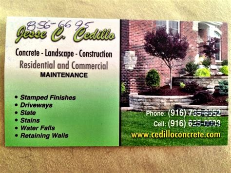 Landscaping Business Cards. Landscape Business Cards