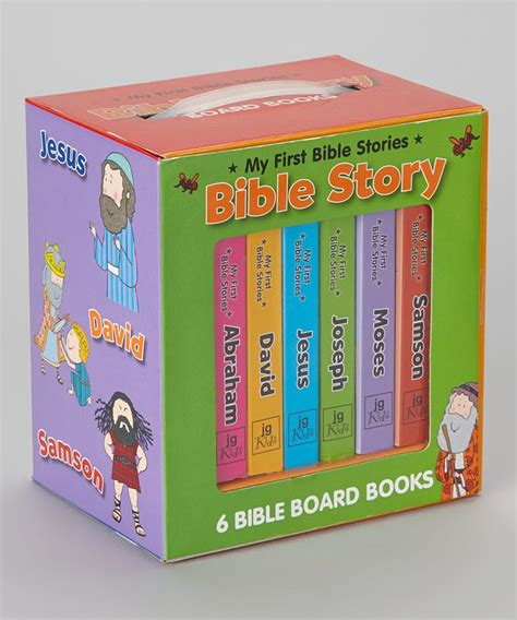 Takes Oakland Stories Boxed Set by Take A Look At This Bible Stories Board Book Box Set On