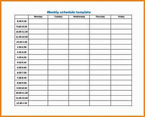 9 weekly work schedule template cashier resume With work calendars templates
