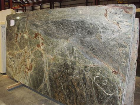 forest green marble slab