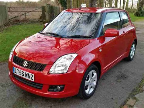 how to learn about cars 2006 suzuki swift transmission control suzuki swift 1 5 glx 2006 56 102bhp 68k miles quilted leather car for sale