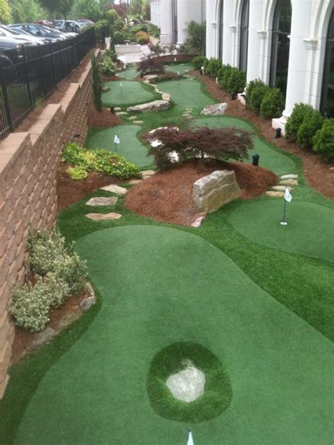 Backyard Putting Green Supplies by Chionship Putting Course