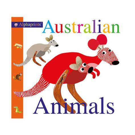 alphaprints australian animals book kmart