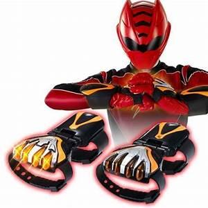 BANDAI Power Rangers Gekiranger Jungle Fury Red Lion ...