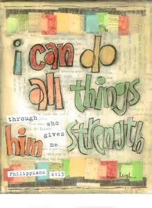 Bible Verse I Can Do All Things Through