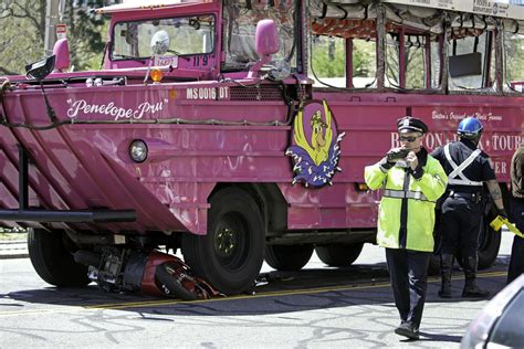 Duck Boat Tours Of Boston by Collision On Duck Tour Kills One Boston Herald