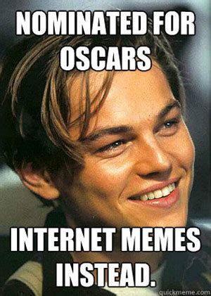 Memes Leonardo Dicaprio - the best internet reactions to leonardo dicaprio not winning an oscar smosh