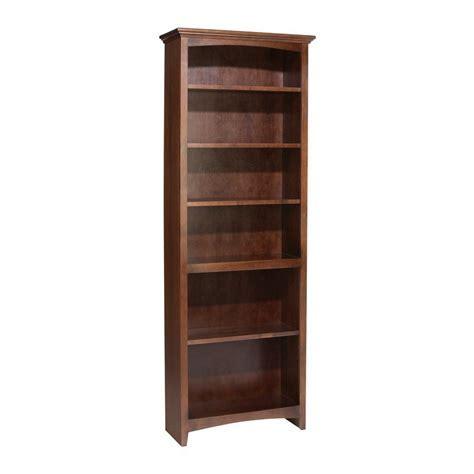 """Whittier Wood McKenzie Bookcase Collection   24"""" Wide"""