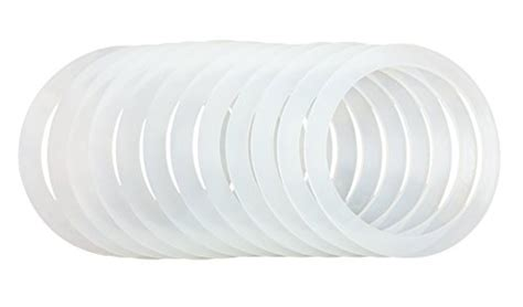12 Silicone Gasket Sealing Rings For Mason Jar/ball