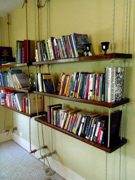 Hanging Bookshelves  The Runcible Spoon