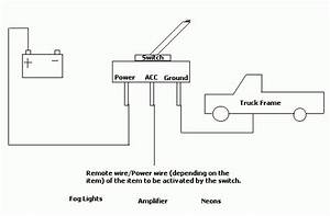 Illuminated Toggle Switch Wiring Diagram