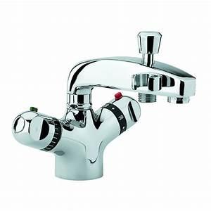 Mitigeur Thermostatique Monotrou Pour Baignoire : mitigeur thermostatique bain douche ~ Edinachiropracticcenter.com Idées de Décoration