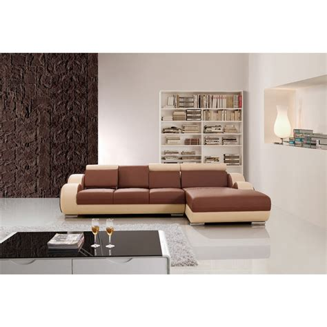 canape angle relax cuir canapé d 39 angle relax en cuir 5 places roll