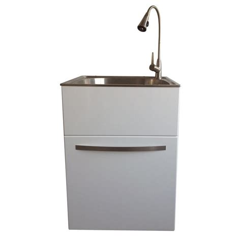 Utility Sink In Cabinet by Presenza All In One 24 2 In X 21 3 In X 33 8 In