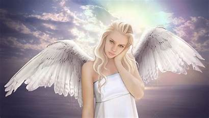 Angel Angels Wallpapers Blonde Backgrounds Wallpaperaccess