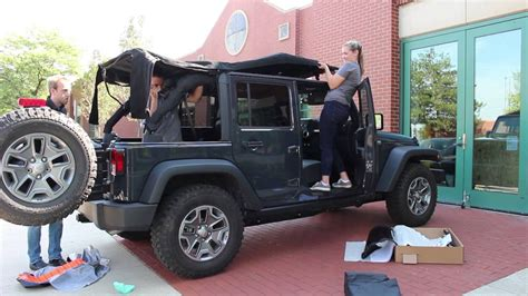jeep wrangler unlimited soft top 2016 jeep wrangler unlimited soft top install youtube