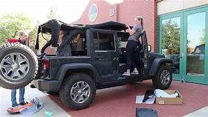 Jeep Wrangler 2 Door Soft Top Installation