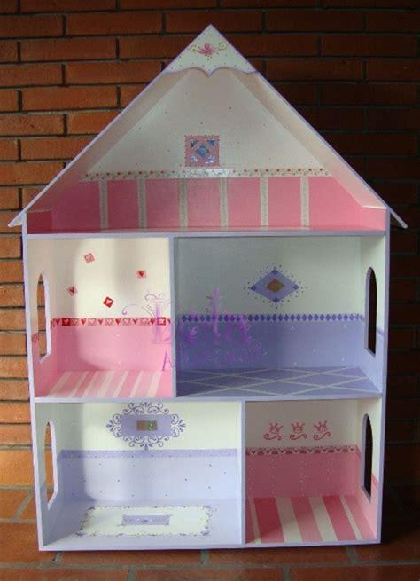 lola artesanias casita  munecas en rosa  lila