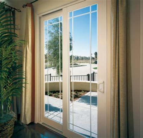 milgard patio doors with blinds tuscany 174 series sliding doors milgard windows