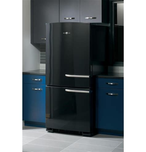 general electric ge artistry series energy starr  cu ft bottom freezer refrigerator