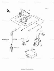 Kawasaki Motorcycle 1993 Oem Parts Diagram For Ignition