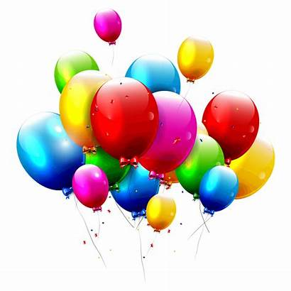 Balloons Background Searchpng Balloon Birthday Transparent Flying
