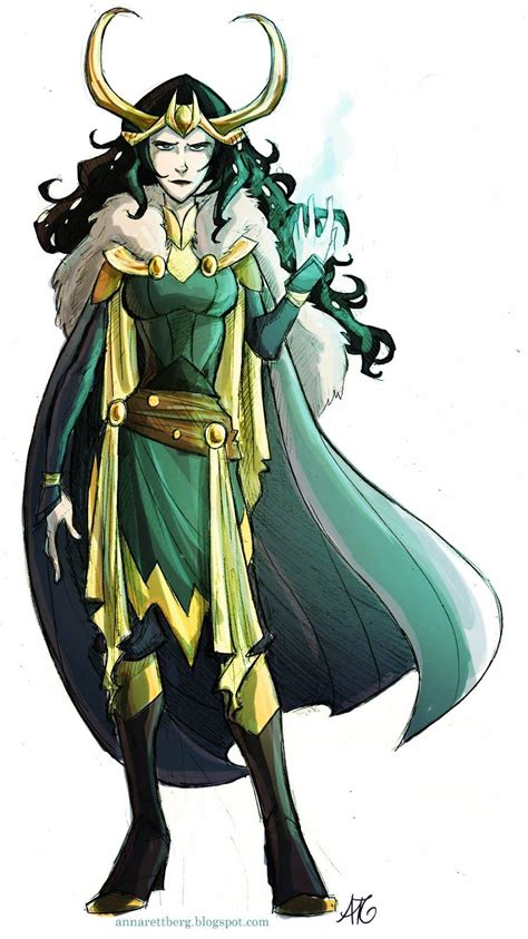 Could It Be A Lady Loki Who Isnt Showing Mass Amounts