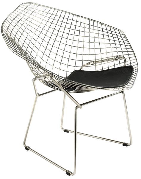 grey seat cushions harry bertoia style wire lounge chair style