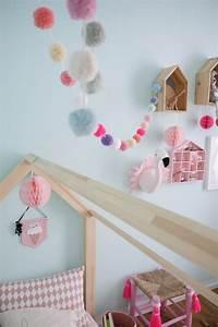 Babyzimmer Mädchen Deko : kinderzimmer m dchen deko und einrichtungsideen rosa grau pompoms und mint ~ Sanjose-hotels-ca.com Haus und Dekorationen