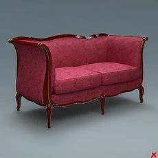 Sofa Old Fashioned 3d Max