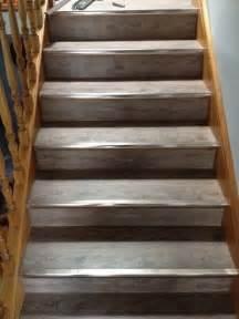 vinyl flooring for stairs direct floor coverings rustic grey 5mm waterproof vinyl planks clic lock on stairs direct