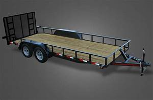 Deluxe 9000 Gvwr Utility Trailer For Sale