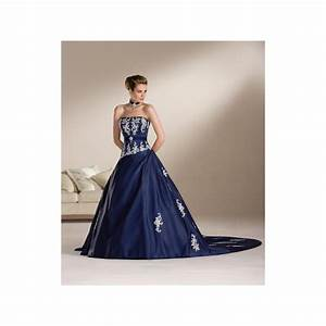 Navy blue and white wedding dresses photo 4 browse for Navy and white wedding dress