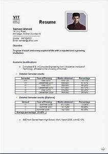 Resume for engineering students freshers