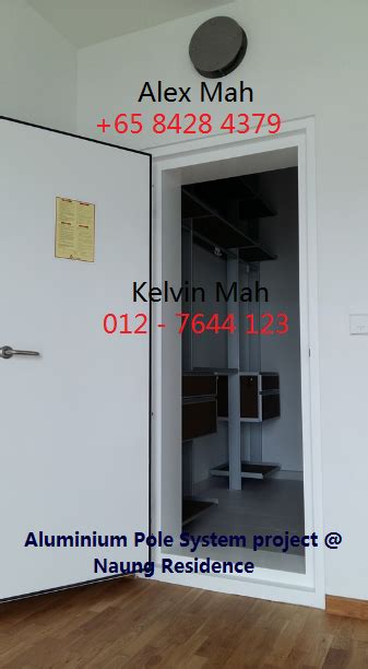 kitchen cabinet with doors malaysia and singapore renovation aluminium and 8428