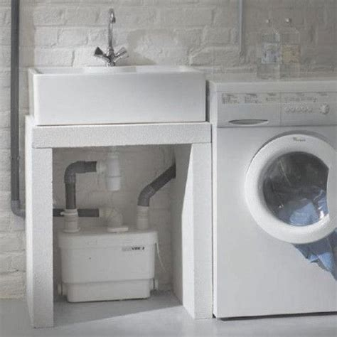 basement sink drain pump upflushtoilet com saniflo products sanivite gray