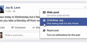 How to Unfollow Your Facebook Friends' Posts Without
