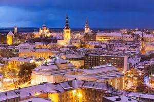 Estonian Experience - Old Tallinn Winter Tour