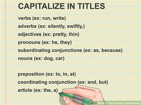 How To Use Proper Capitalization 15 Steps (with Pictures