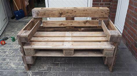 Gartenmöbel Aus Paletten Bauen ⇒ Schritt Für Schritt