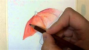 Acquerello: tecnica con matite acquerellabili YouTube