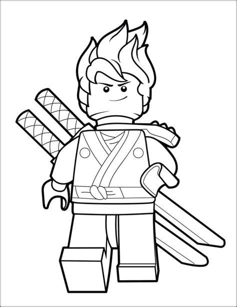 lego ninjago coloring pages  pieces print